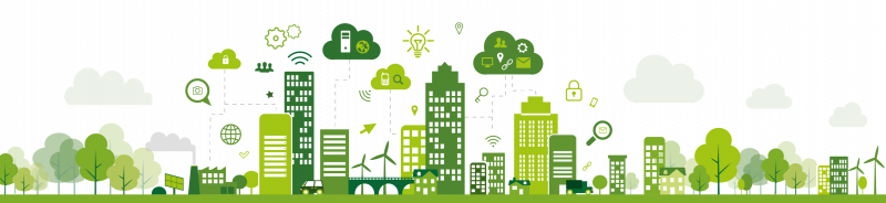 Greening the internet - a picture of a digital city